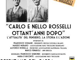 Carlo e Nello Rosselli ottant'anni dopo