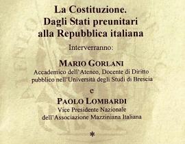 La Costituzione dagli Stati preunitari alla Repubblica Italiana
