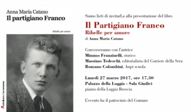 Presentazione del libro su Franco Passarella scritto dalla nipota Anna Maria Catano.